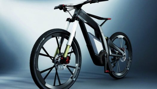 Audi E-Bike am Wörthersee