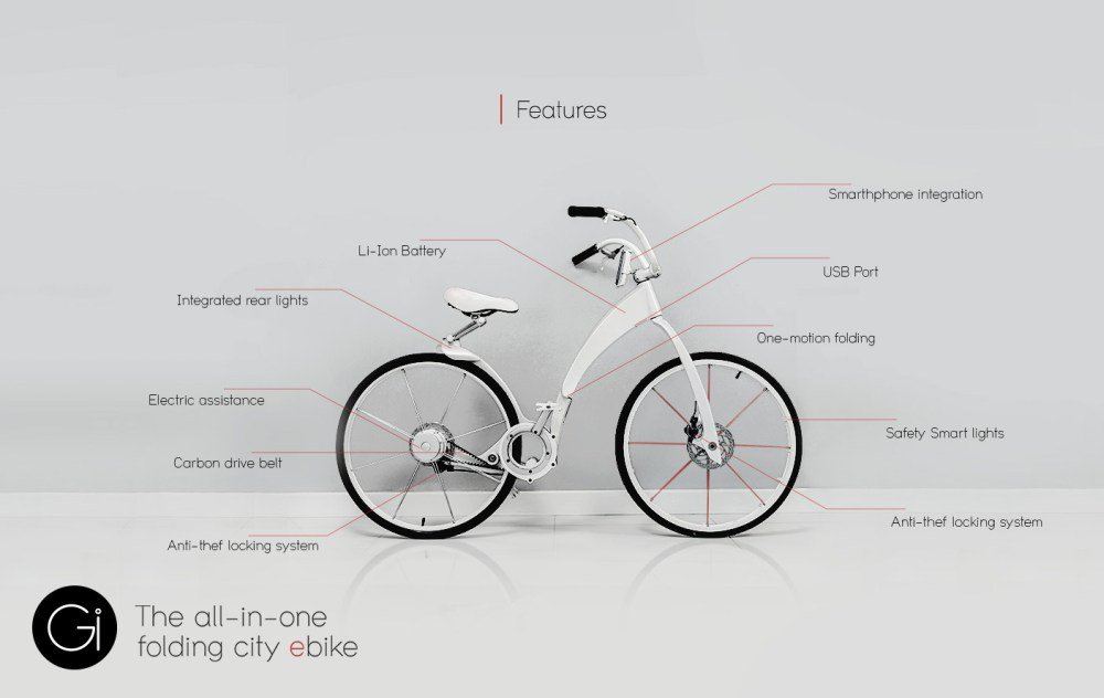 Gi Bike Features