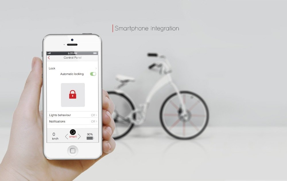 Gi Bike Smartphone Integration