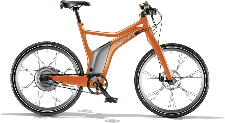 smart ebike orange edition; Bild: Daimler AG