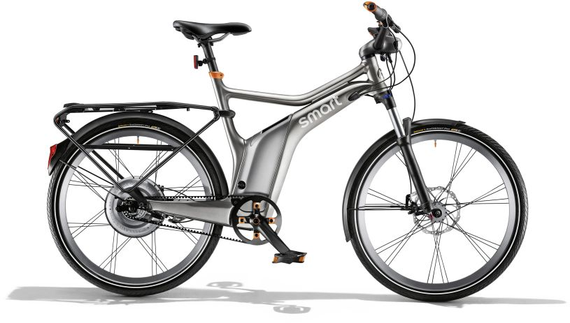 smart ebike comfort edition dark grey matt/ flame orange; Bild: Daimler AG