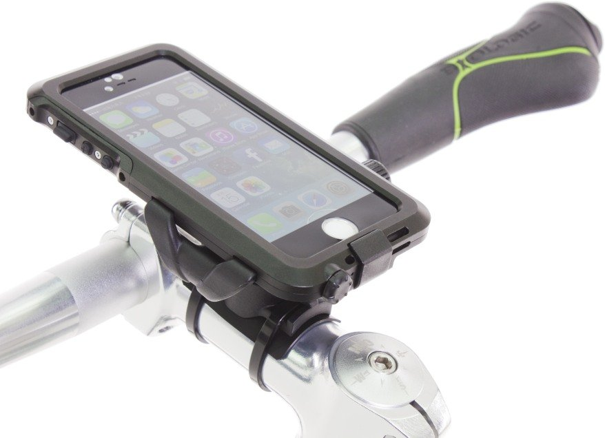 BioLogic AnchorPoint bar mount and Hard Case for iPhone 5s
