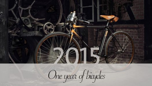 "11. Dezember — ""One Year of Bicycles"" Wandkalender 2015"