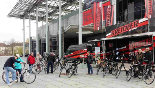 Kreidler E-Bike Testtrucks ab April auf Tour