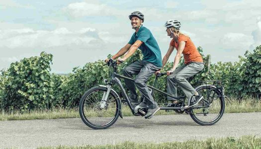 E-Tandems von FLYER bei Inklusions-Tandem-Tour 2015