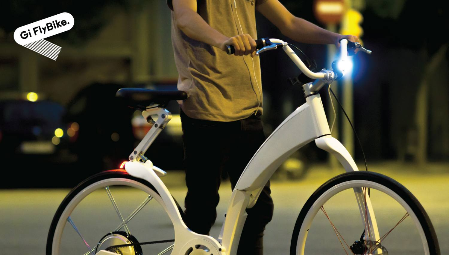 gi flybike_smart light, white logo