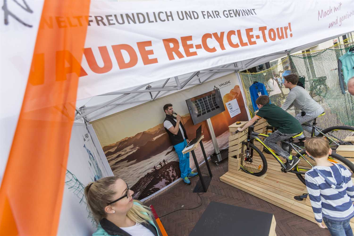VAUDE_Recycle Tour_Store Ulm_05A8891