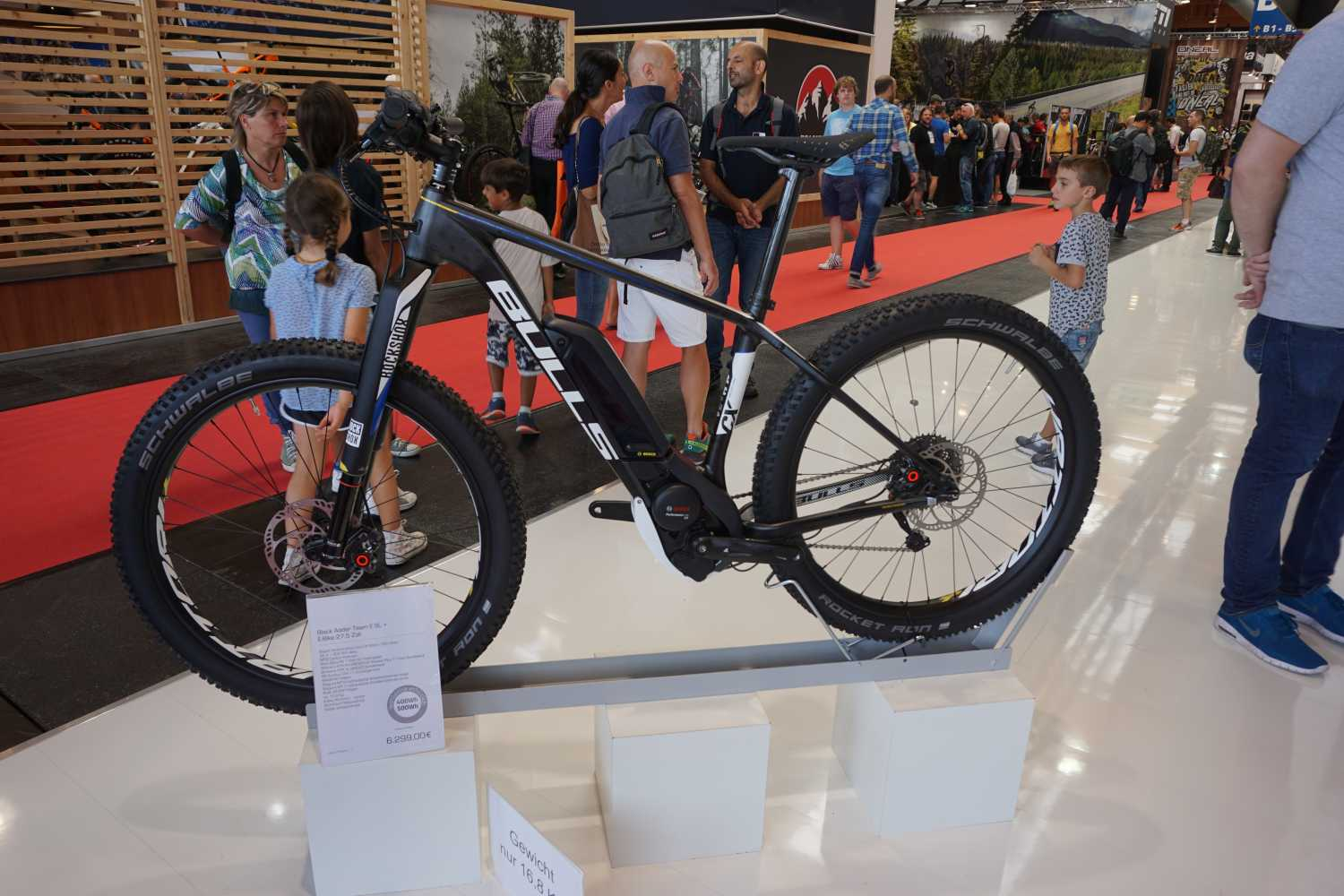 Bulls Black Adder Team E SL + Eurobike 2016