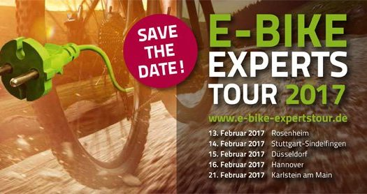 BMZ startet E-Bike Experts Tour 2017