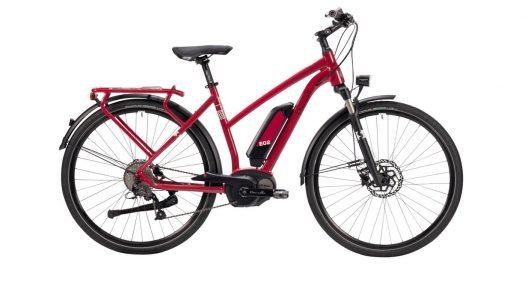 Dancelli Spurtreu e.02 – neues Damen E-Bike in marsalla-creme