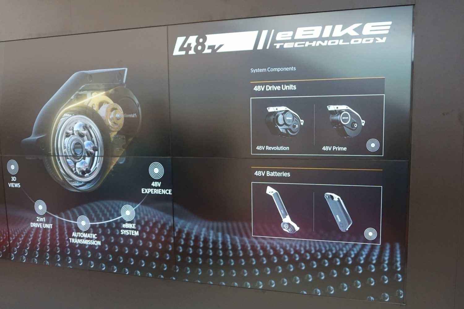 Continental eBike System 2018