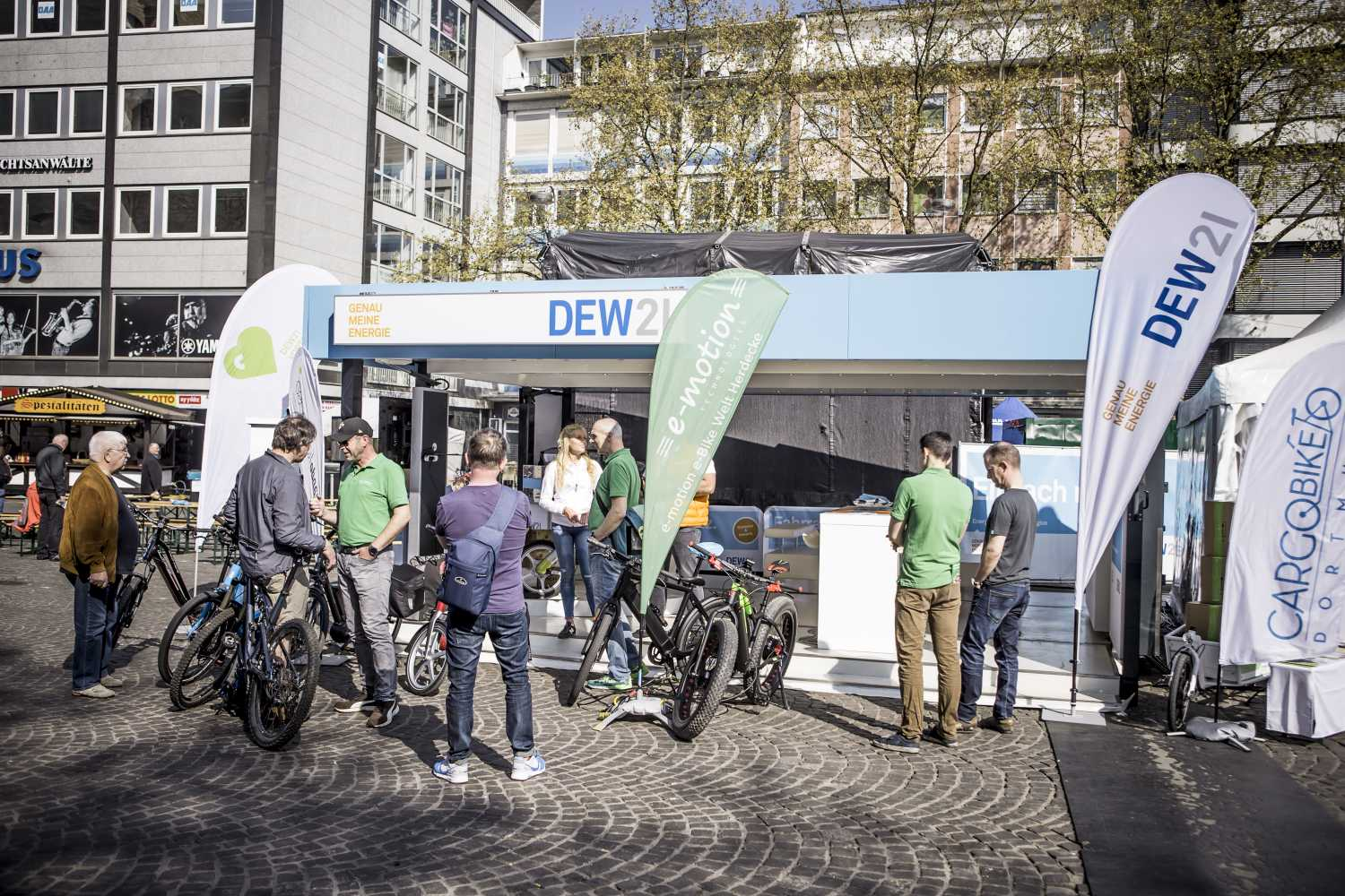 DEW21 E – BIKE Festival Dortmund presented by SHIMANO