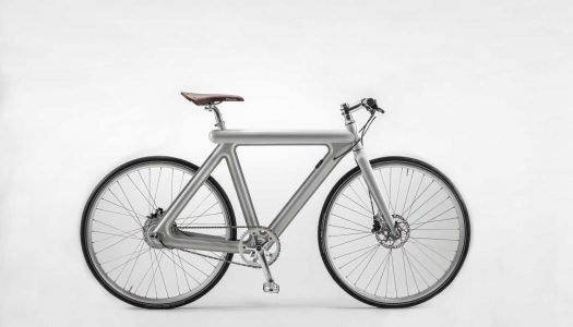LEAOS Pressed Bike gewinnt European Design Award 2019 in Silber
