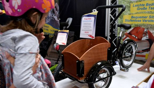 E-Cargobikes auf der 24. Internationalen Spezialradmesse 2019 am 27. und 28. April