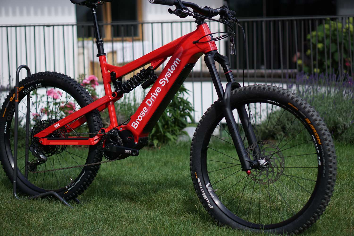 NOX Cycles Prototyp mit Brose Drive System 2020