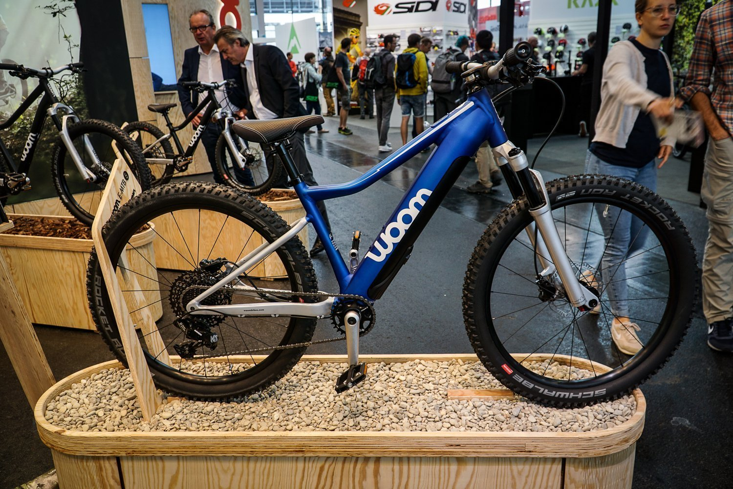 woom 2020 E-Mountainbike