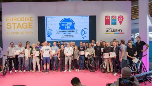 43 Eurobike Awards, darunter neun in Gold. Fünf Sieger aus der Sparte Start-Up