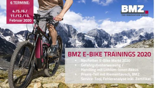 BMZ E-Bike Trainings 2020 – Fit in die neue Saison
