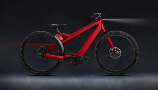 Radiant Carbon – neues, limitiertes E-Bike von Tony Ellsworth