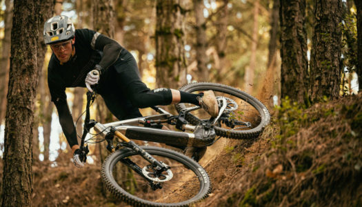 Greg Williamson probiert das Commencal META POWER TR