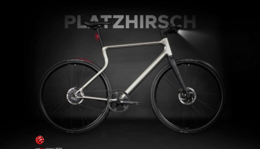 Urwahn Bikes Platzhirsch gewinnt Red Dot Product Design Award 2021